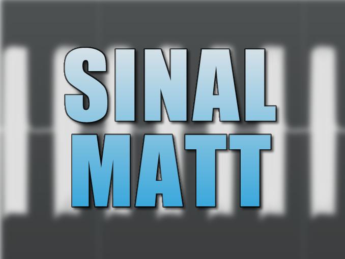 Teste as Reflexões da sala com o sinal MATT