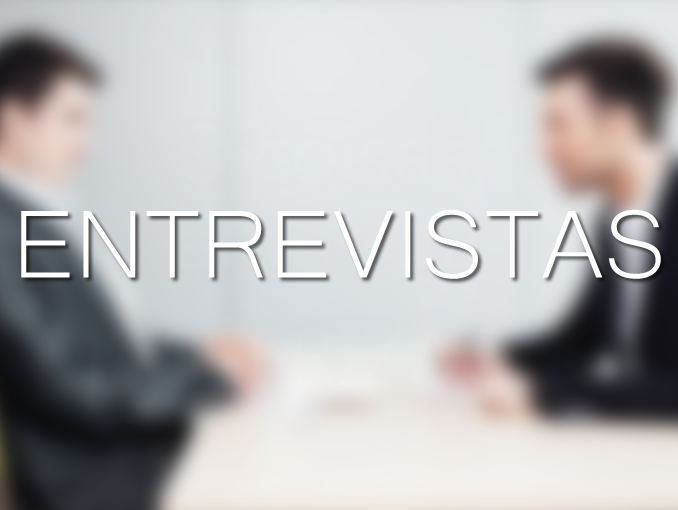 "Nova sessão no blog ""Entrevistas"""